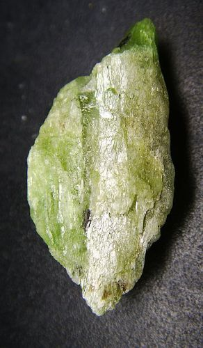 Chrome Tremolite Crystal in Gemstone Quality from Tanzania