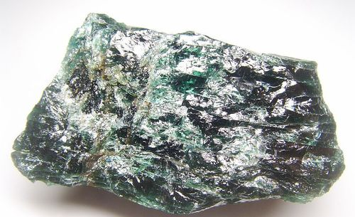 Stunning blue green Apatite from Madagascar