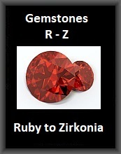 Gemstones R-Z